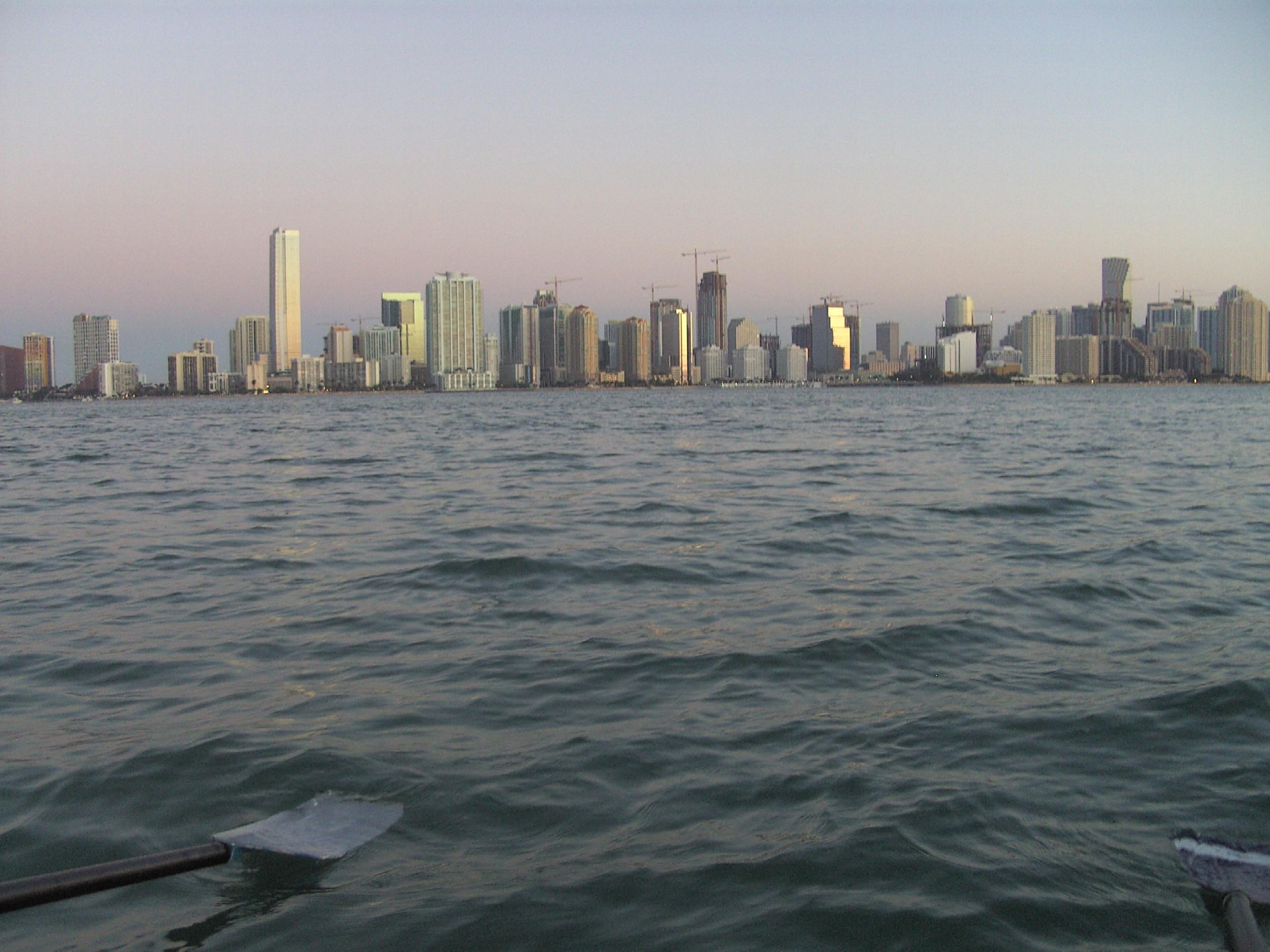 Rudern in Miami